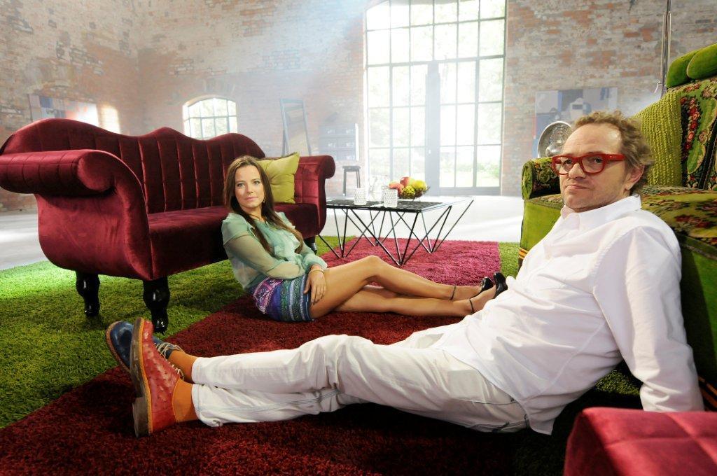 Anna Mucha i Piotr Najsztub